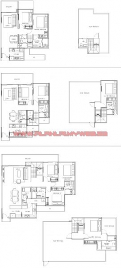 PO Penthouse parc olympia @ flora drive by koh brothers d17 on parc ...